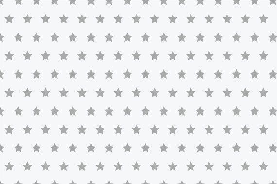 טפט כוכבים אפורים