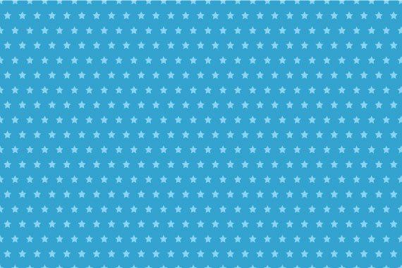 טפט לקיר כוכבים ברקע כחול