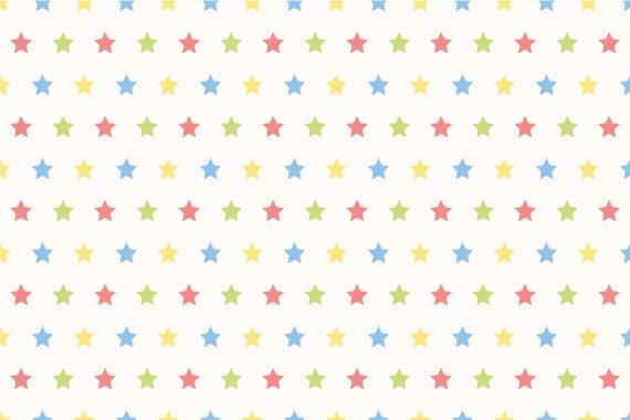 טפט כוכבים צבעוניים