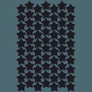 סט מדבקות קיר | כוכבים