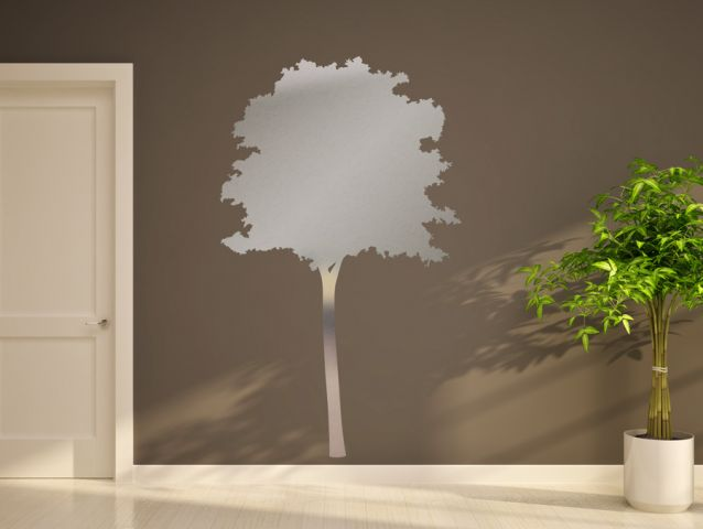 מדבקת דמוי מראה | עץ