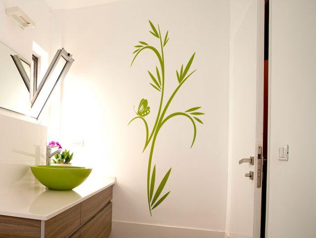 מדבקת קיר | צמח דוקורטיבי