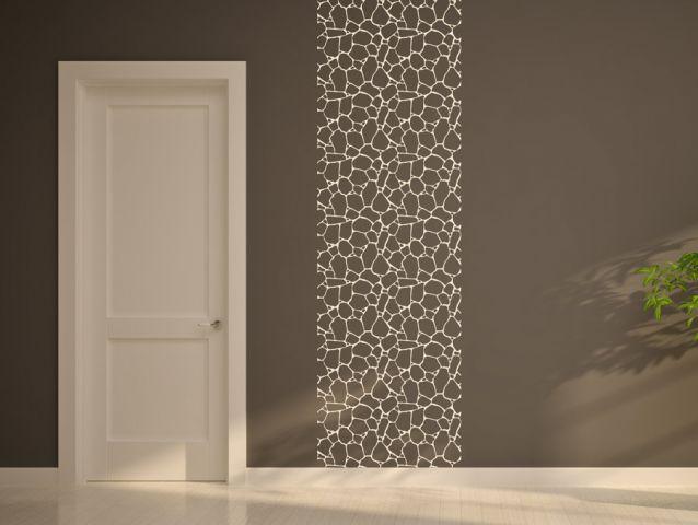 מדבקת קיר |  אבנים