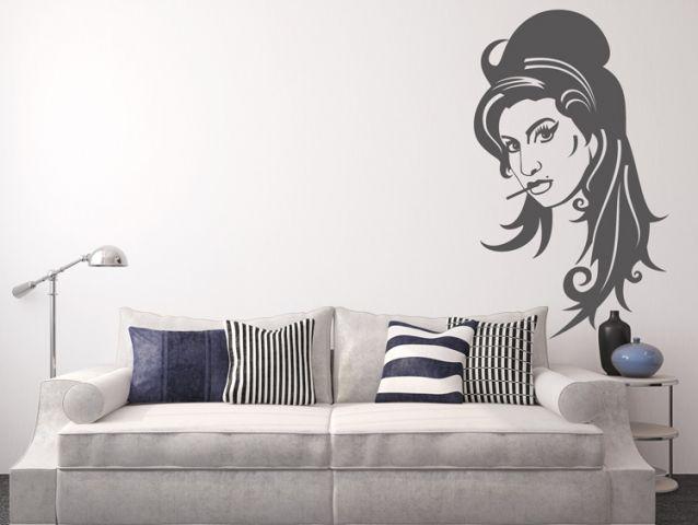 מדבקת קיר | איימי ויינהאוס