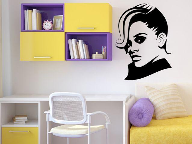 מדבקת קיר | ריהאנה