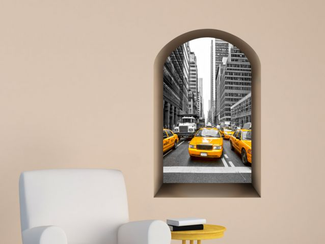 חלון נישתי לצומת בניו יורק