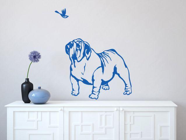 כלב בולדוג מתוק