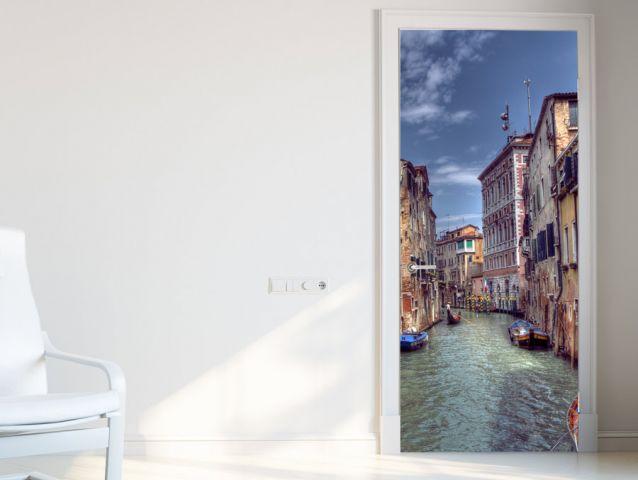 טפט לדלת עיצוב ונציה