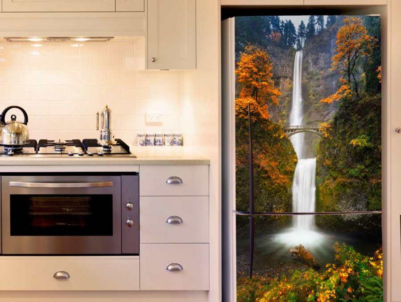 מדבקה למקרר מפל יפייפה