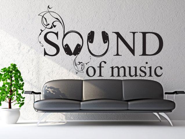 מדבקת קיר | צליל המוזיקה
