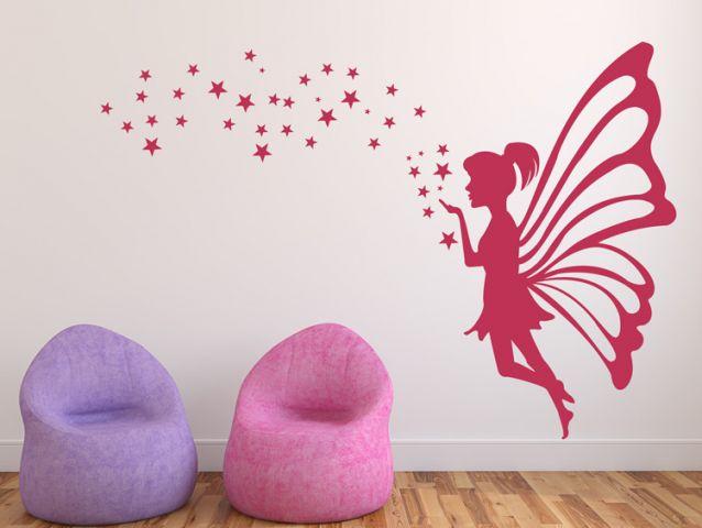 מדבקת קיר | פיה מתוקה