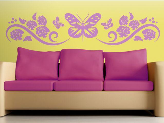 מדבקת קיר | פרפר החופש
