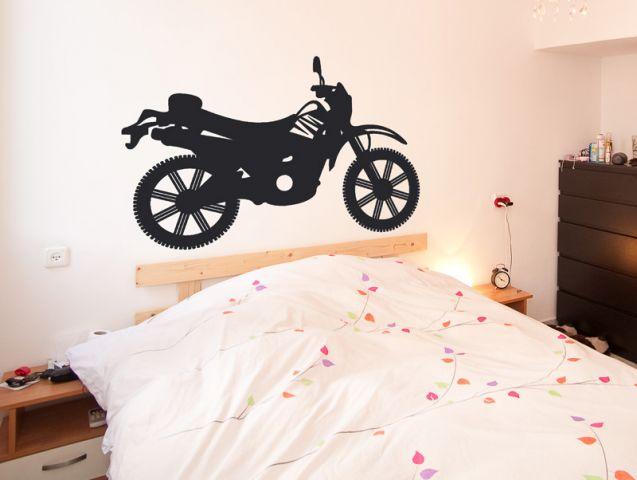 מדבקת קיר | אופנוע