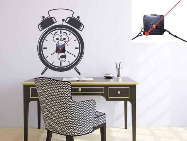 מדבקת שעון | שעון לחוץ