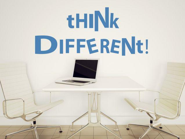 תחשוב שונה !!