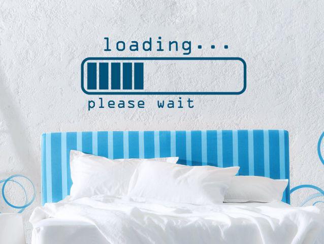 מדבקת קיר   ״Loading