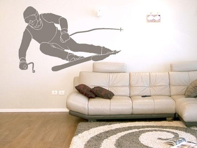 מדבקת קיר | סקי