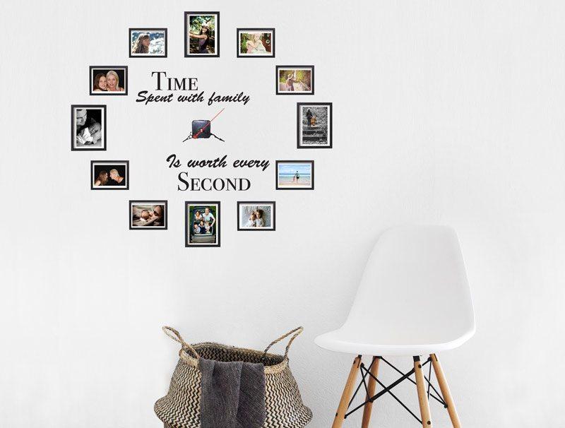 מדבקת קיר | זמן המשפחה