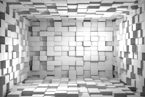 טפט מדבקה | קוביות 3D
