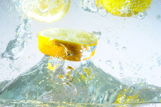 טפט מדבקה   לימון רענן