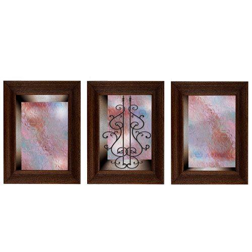 מדבקת קישוט לדלת    זכוכית סגלגלה לדלת