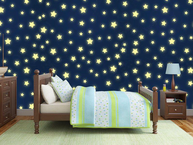 טפט | כוכבים נוצצים בשמים