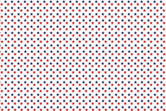 טפט | כוכבים כחולים אדומים