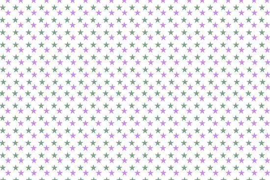 טפט | כוכבים קטנים סגולים וירוקים