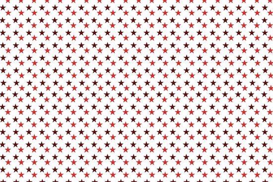 טפט | כוכבים אדומים קטנים