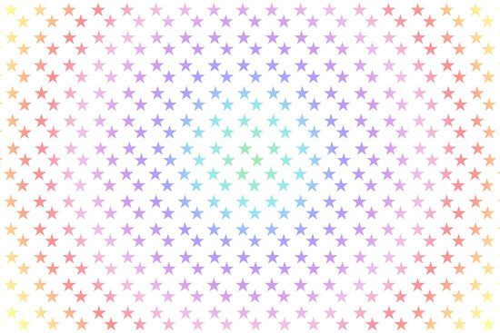 טפט | כוכבים צבעוניים