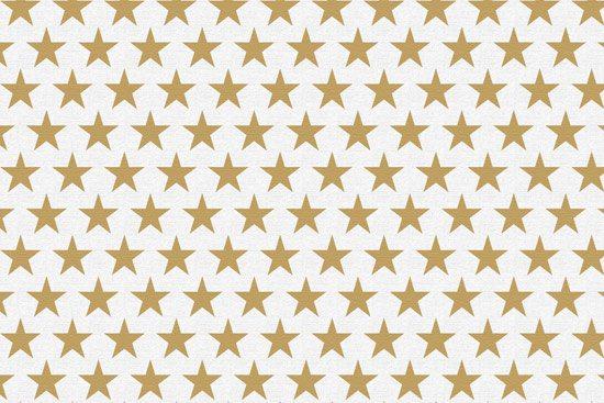 טפט | כוכבים בגוון דמוי זהב מט