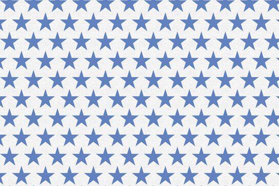 טפט | כוכבים כחולים