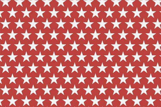 טפט | כוכבים על רקע אדום