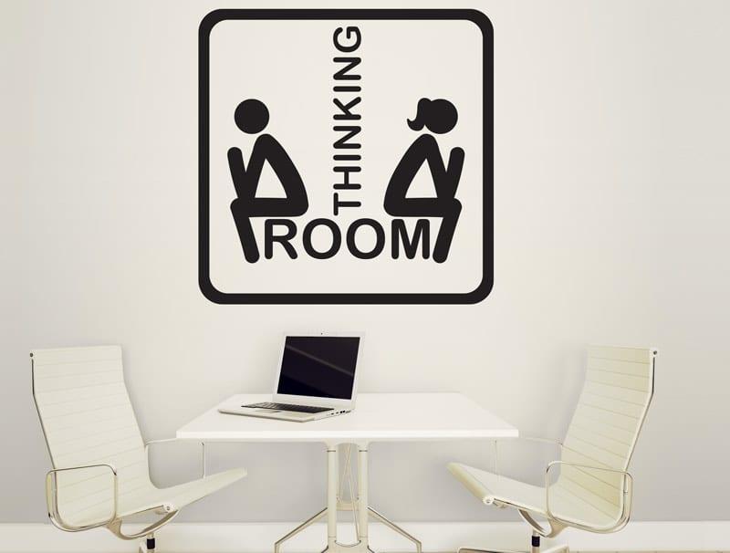 מדבקת קיר | חדר ישיבות