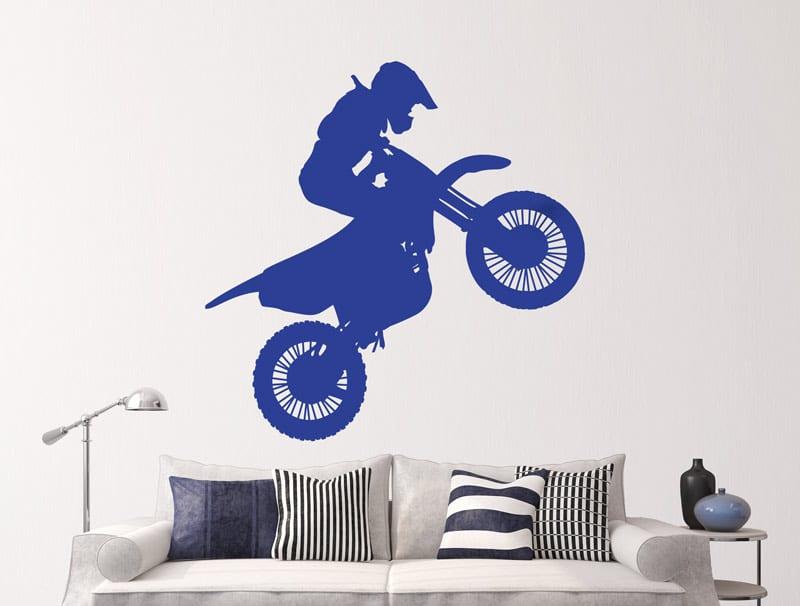 מדבקת קיר | אופנוען שטח