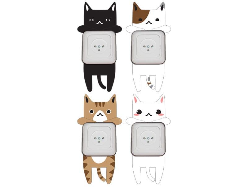 מדבקות לשקעים | חתלתולים