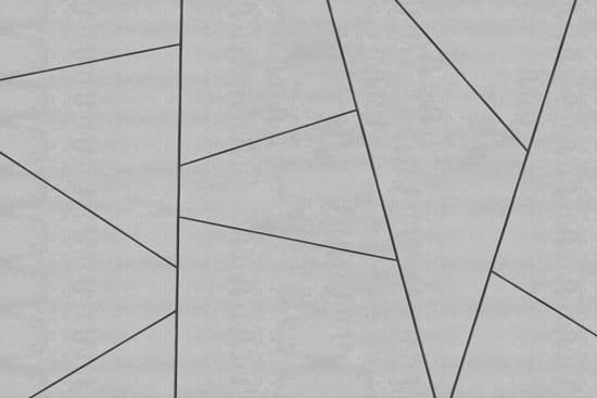מדבקת טפט   חיתוכי צורות בטון אפור