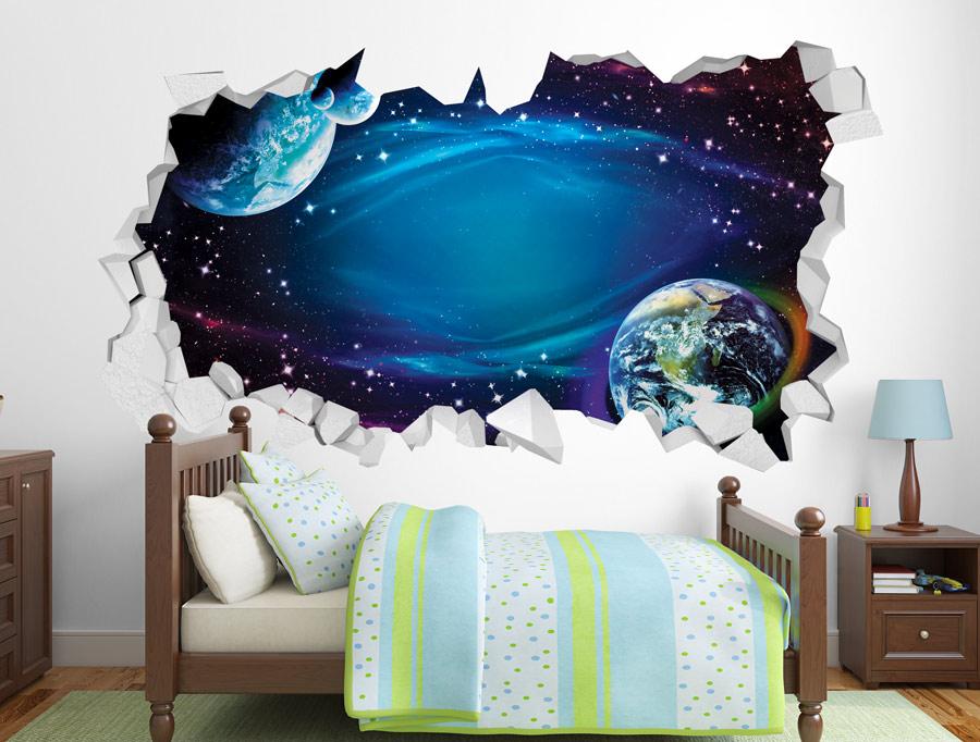 מדבקה - חור לחלל