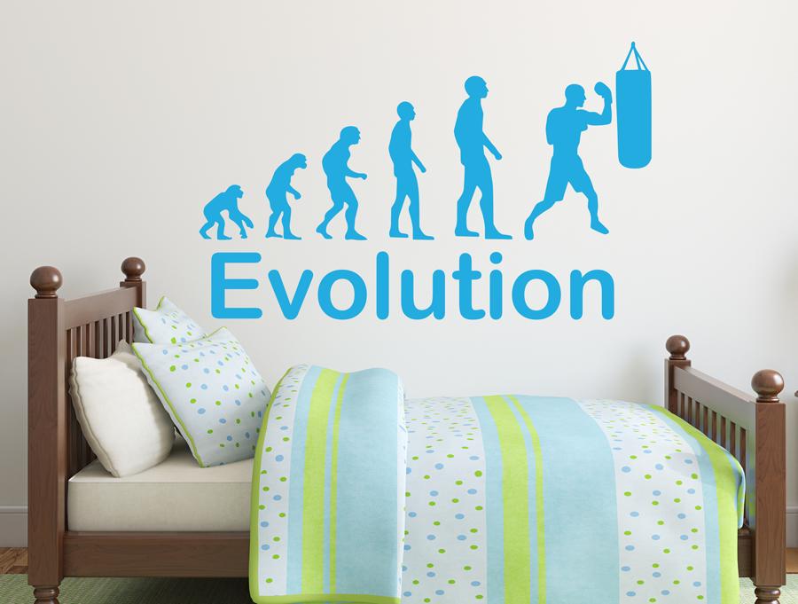 מדבקה - אבולוציה מתאגרף