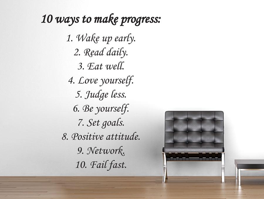 מדבקה - 10 דרכים