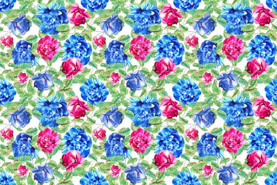 טפט - פרחים צבעוניים לארונות