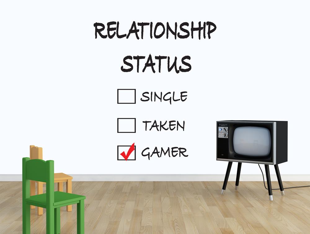 מדבקת קיר - מצב מערכת יחסים