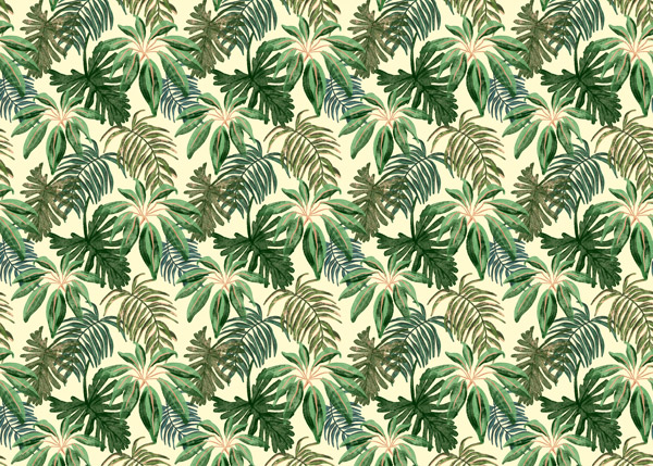 טפט לרהיטים - עלים ירוקים