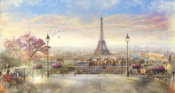 טפט נוף לפריז