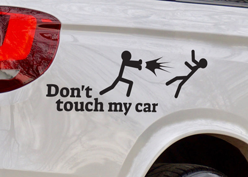 מדבקות לרכב