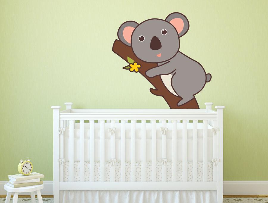 מדבקת קיר לחדר תינוקות קואלה קטנה