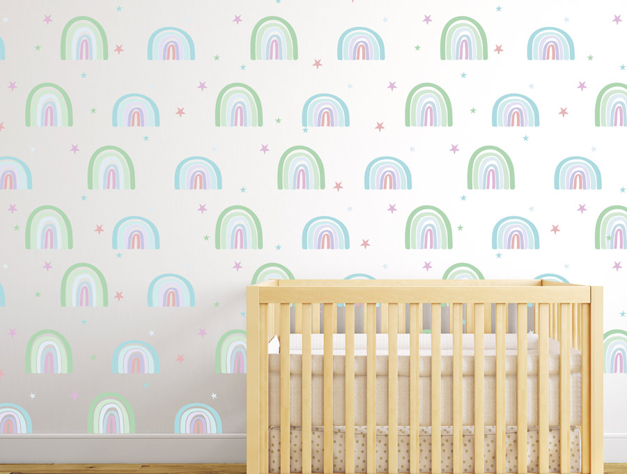 סט של קשתות לחדר ילדים ותינוקות