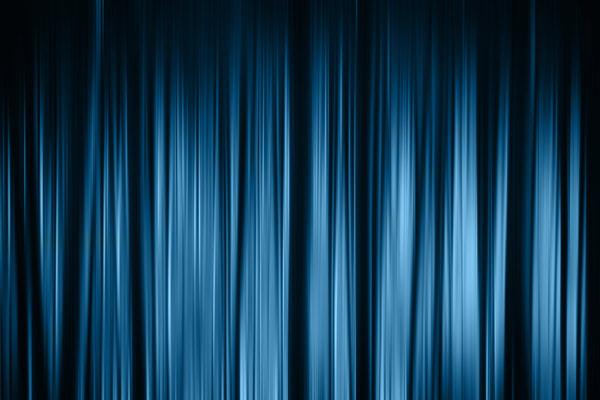 מדבקת טפט אבסטרקטית אור שחור כחול