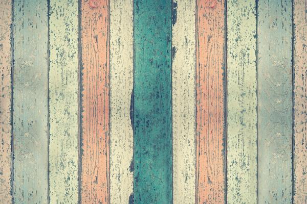 מדבקת טפט עץ בגוון צבעים לחדר השינה