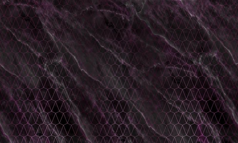 טפט אבסטרקטי עשן שחור על צורות